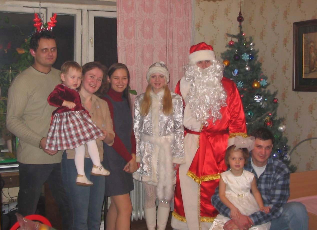 Заказ Деда Мороза в Москве