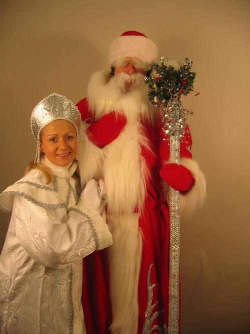 Дед Мороз в офисе